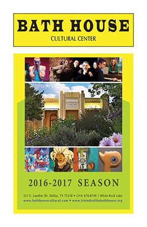 Bath House Cultural Center 2016-2017 Playbill Interactive